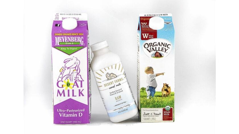 Milk comparisons