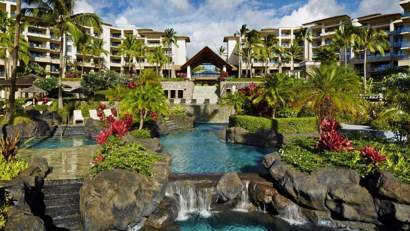 MONTAGE KAPALUA BAY, MAUI: The signature shot of the property, a tropical paradise.