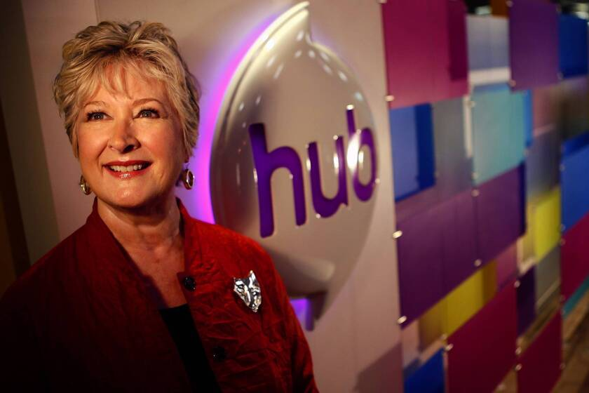 Margaret Loesch, chief executive of the Hub.