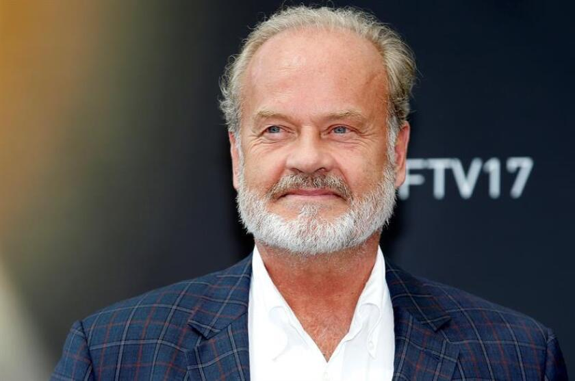 US actor Kelsey Grammer poses during a photocall for the TV series 'The Last Tycoon' at the 57th Monte Carlo Television Festival in Monaco. EFE/EPA/Archivo