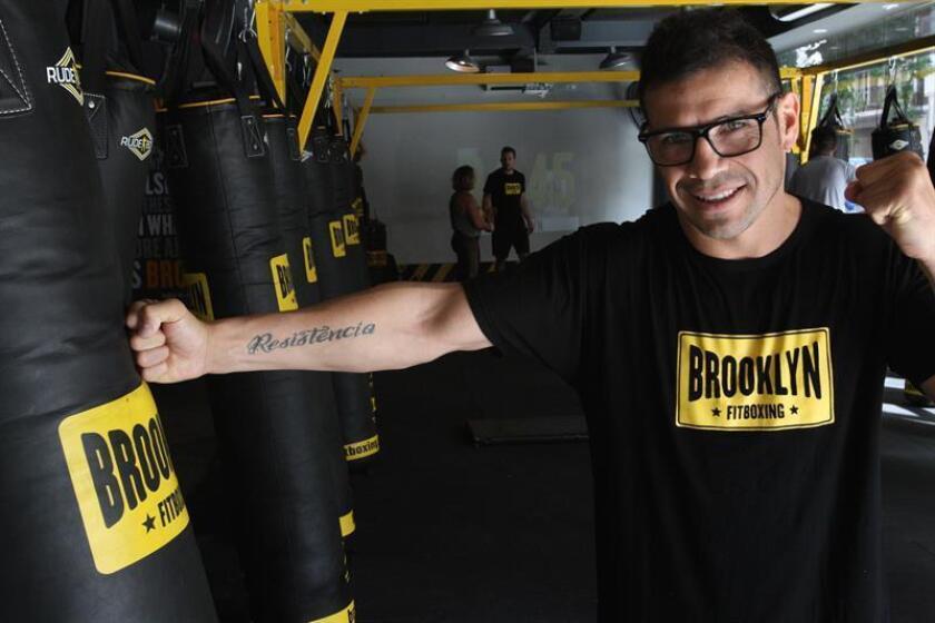 El exboxeador Sergio 'Maravilla' Martínez posa durante una entrevista con Efe este 5 de diciembre de 2018, en un gimnasio de Buenos Aires (Argentina). EFE