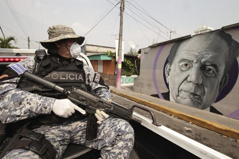 Virus Outbreak El Salvador