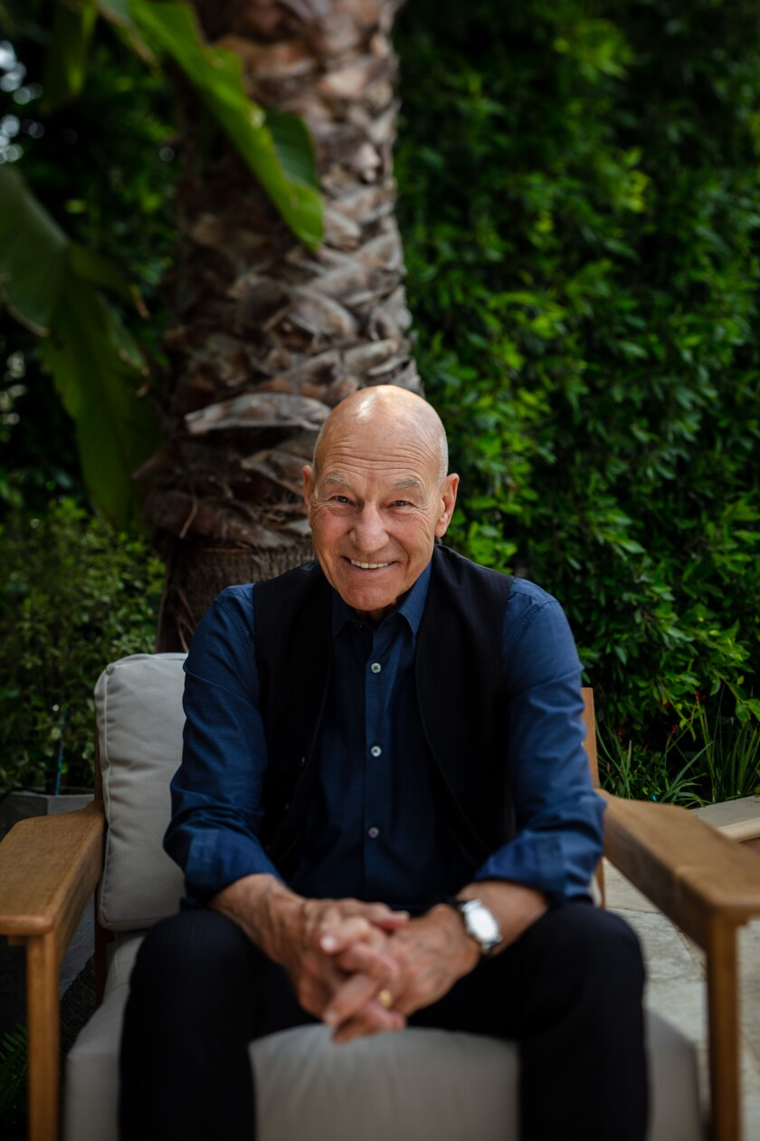 """Actor, director and producer, Sir Patrick Stewart, has returned to his role as Jean-Luc Picard in """"Star Trek: Picard."""""""