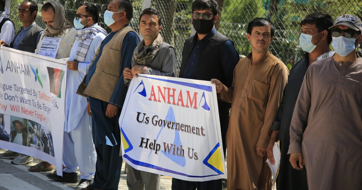 Biden expands Afghan refugee program as Taliban violence grows - Los Angeles Times