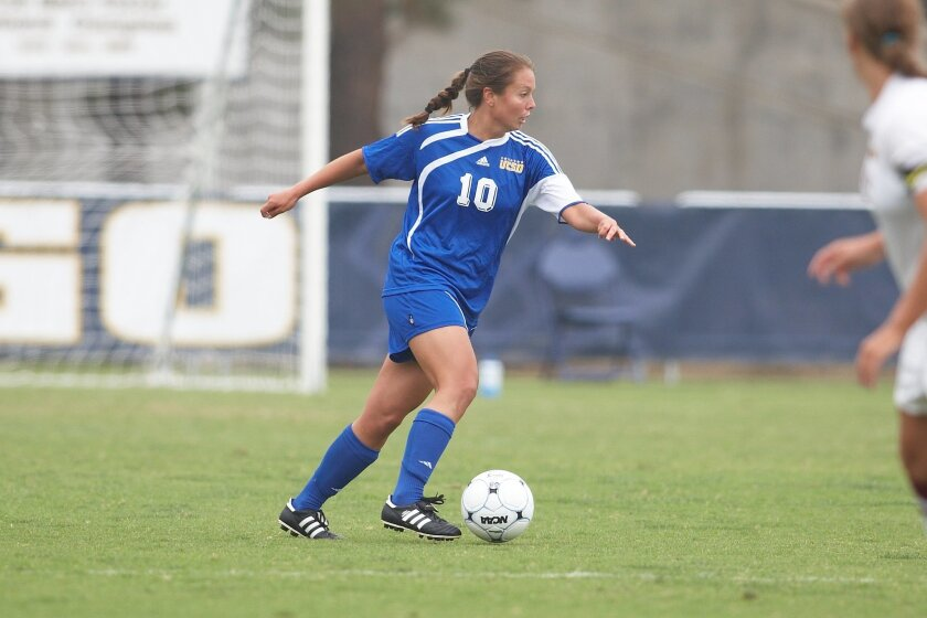 Senior captain Lisa Bradley said UCSD isn't fazed by playing undefeated Saint Rose in Final Four on Thursday.