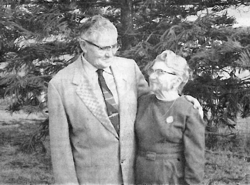 Rubin and Anna Tannenbaum in 1967.