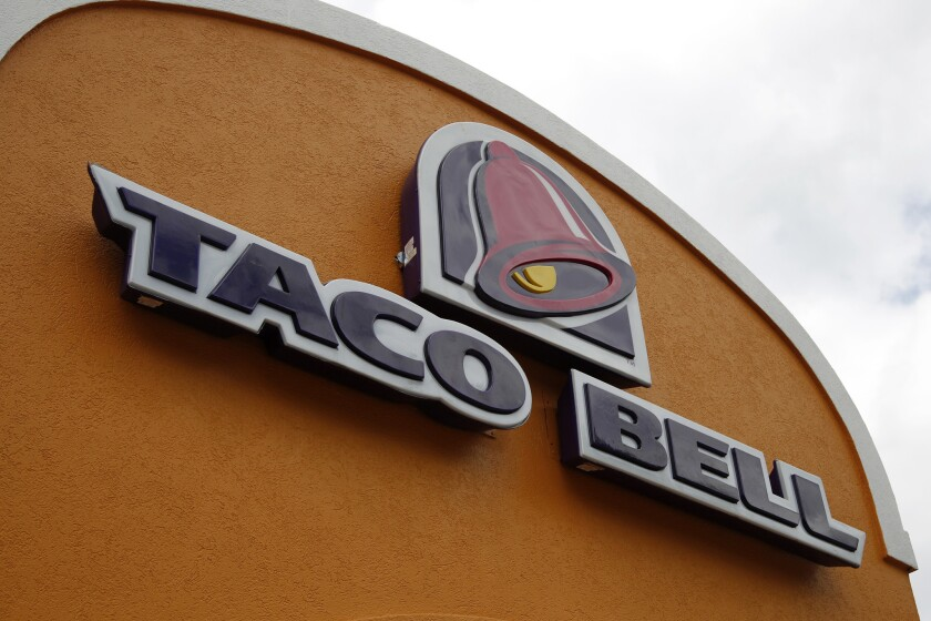 The Taco Bell chain is rolling out a new item, Nacho Fries, which will start at $1. It's part of a push by fast-food restaurants to build foot traffic with $1 food.