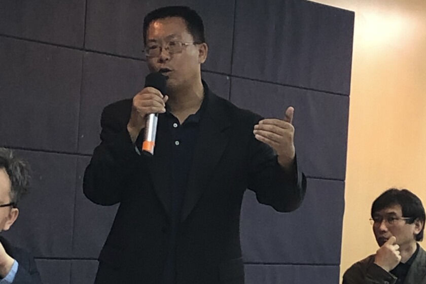 Taiwan China Democracy Activists