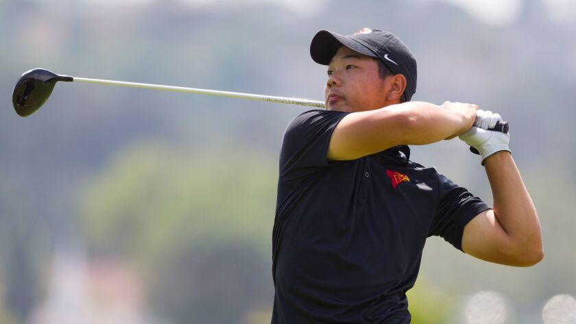 Torrey Pines' Kaiwen Liu won the San Diego Section title last year with a record-setting performance.