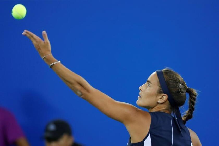 En la imagen, la campeona Olímpica Mónica Puig de Puerto Rico. EFE/Archivo