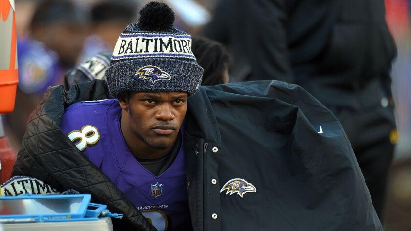 Report: Ravens quarterback Lamar Jackson captured on Instagram video driving 105 mph