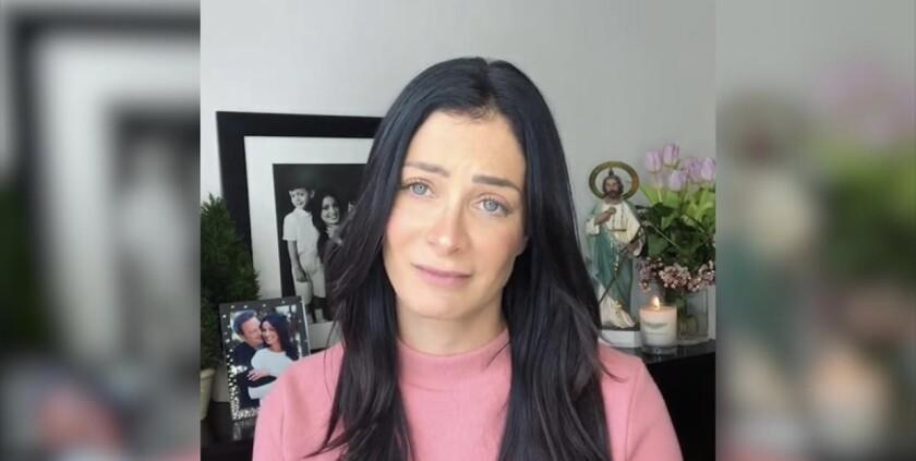 Danayara confiesa valientemente que sufre de cáncer.