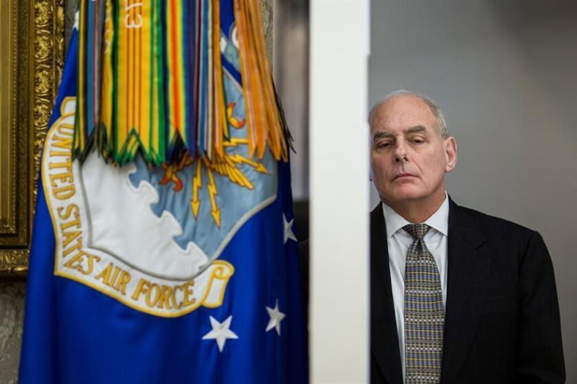 El jefe de gabinete de la Casa Blanca, John Kelly. EFE/Archivo