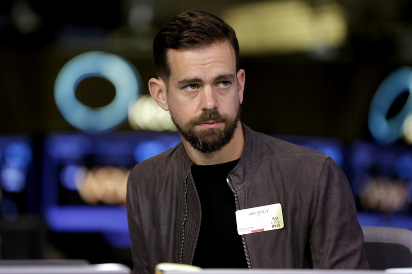 Twitter Chief Executive Jack Dorsey: Finally, a challenge to Trump's tweets