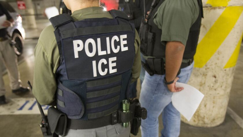 The ICE Fugitive Operations Unit works in San Diego County to apprehend immigrants targeted by the agency for removal from the U.S.