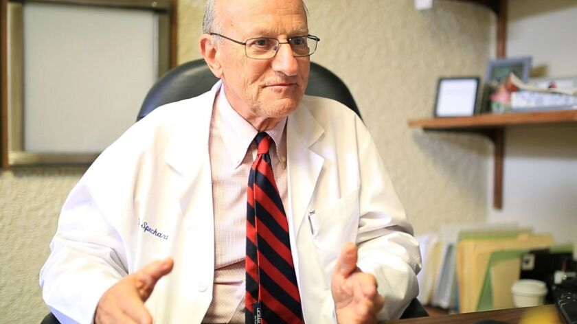 Dr. Paul Speckart, a San Diego internist, said three of his patients last year received board letter