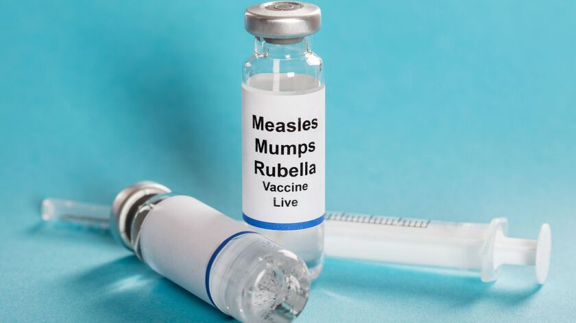 Officials urge residents who have not been fully immunized against measles — via two doses of the measles immunization — to contact their healthcare provider to get the vaccine.