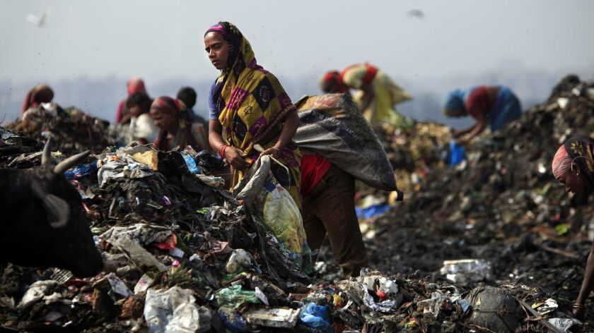 For many in India, landfill is a livelihood and a home