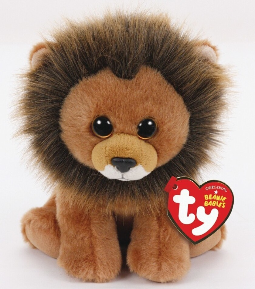 Proceeds from the Cecil the Lion Beanie Baby ($5.99, available at the end of September) will go to the U.K. conservation group that has been conducting a long-term study of the late lion's Zimbabwean pride.