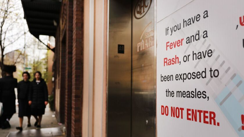 Measles Vaccination Order Stays In Place After Judge Upholds New York Health Officials' Mandate