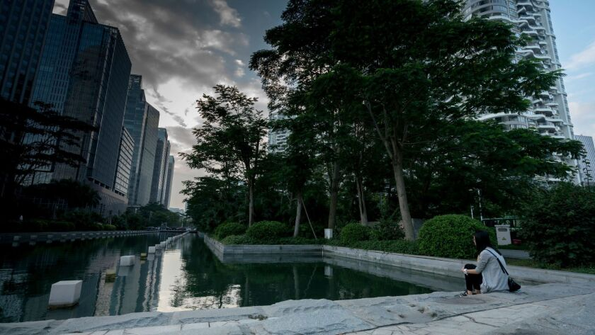 The Chinese city of Shenzhen has won awards for its efforts to tackle climate change.