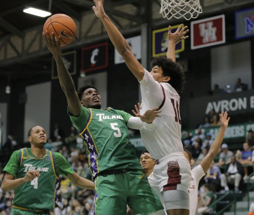 Temple Tulane Basketball