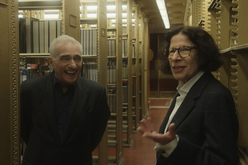Fran Lebowitz and Martin Scorsese on why New York isn't over - Los Angeles  Times