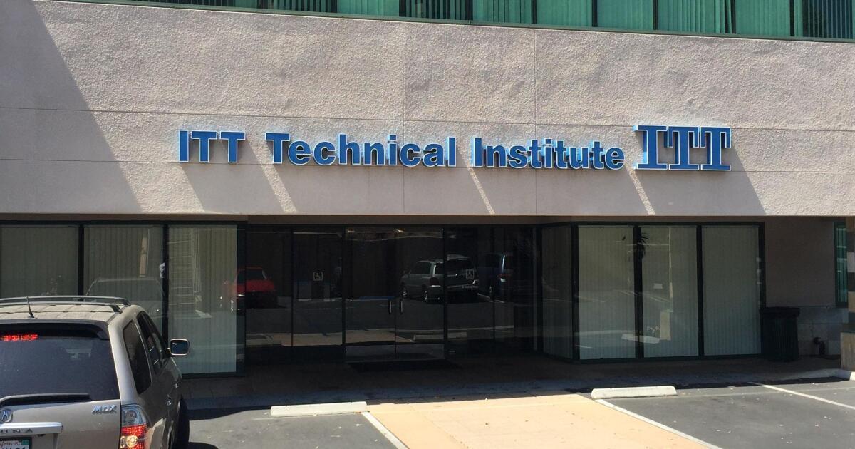 California Attorney General seeks loan forgiveness for former ITT Tech students
