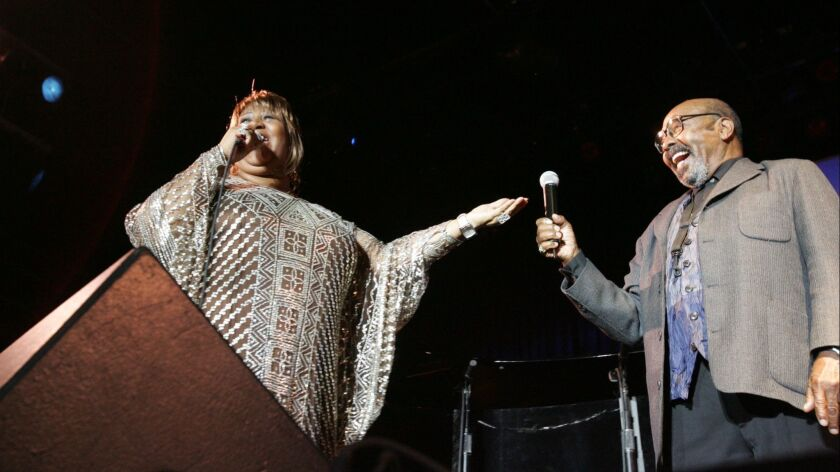 Aretha Franklin and James Moody performed for the first and only time anywhere in 2005 in San Diego at Humphreys Concerts by the Bay.