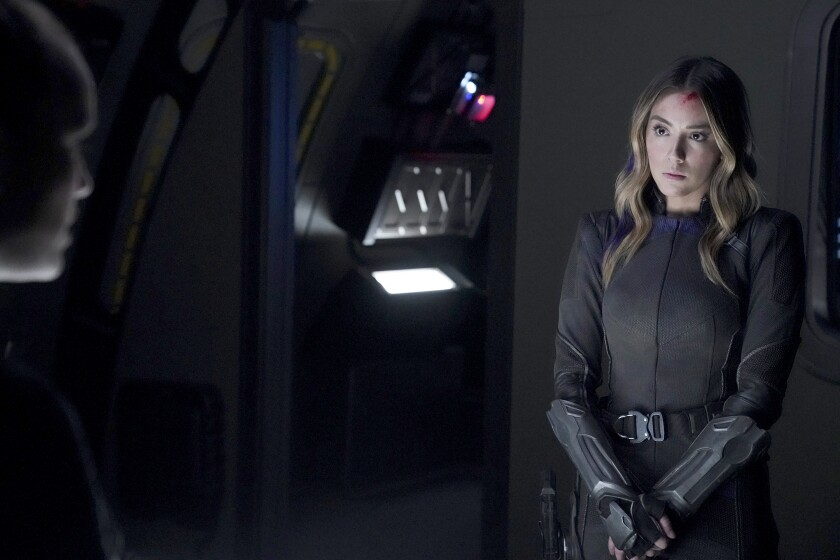 "Chloe Bennet in ""Marvel's Agents of S.H.I.E.L.D."" on ABC."