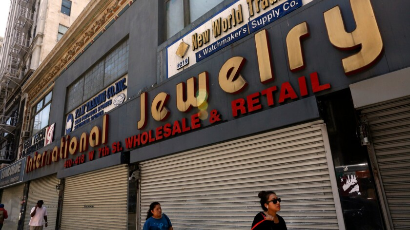 The International Jewelry Mart on 7th Street was sold in November to Atlas Capital Group, a real estate firm.