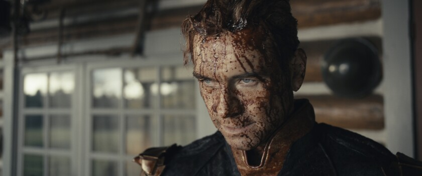 """Homelander (Antony Starr) is a bloody mess in a scene from """"The Boys."""""""
