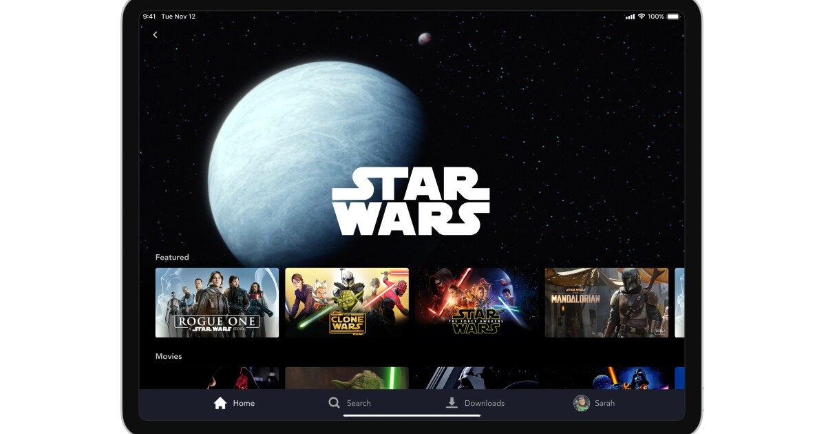 Disney+ faces glitches on launch day. You've probably already guessed why