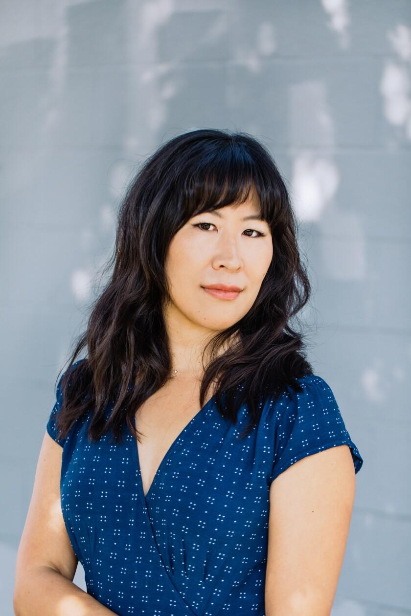 "Nancy Jooyoun Kim, whose debut novel is ""The Last Story of Mina Lee."""