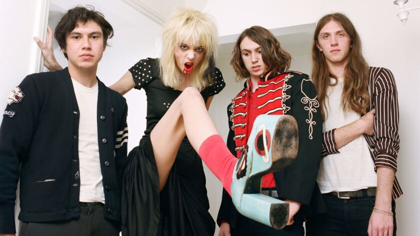 The band Starcrawler hail from Los Angeles.