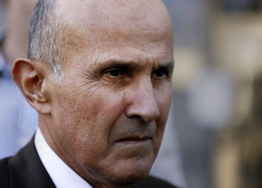 Former L.A. County Sheriff Lee Baca admitted lying to investigators when he told them he was not involved in hiding inmate Anthony Brown.