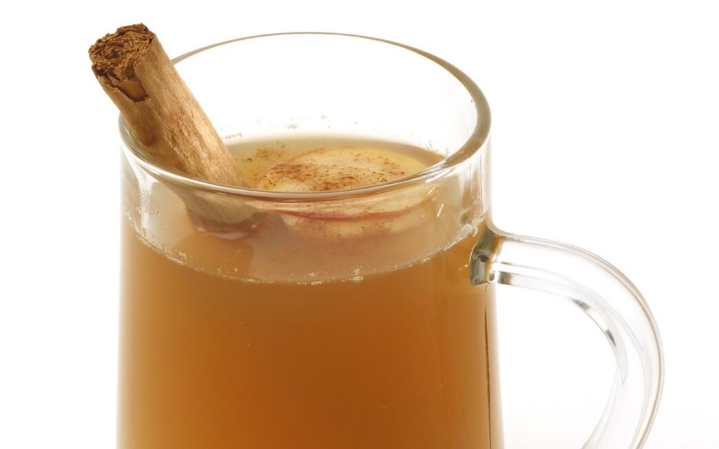 Hot cider toddy