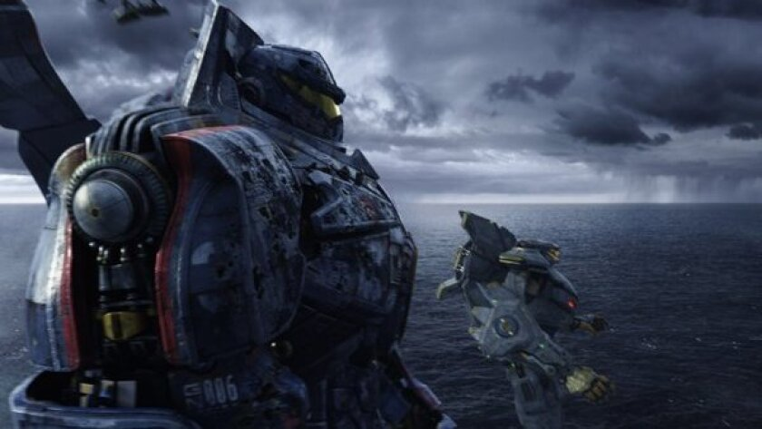 """""""Pacific Rim"""" is off to a stronger-than-expected start at the box office."""