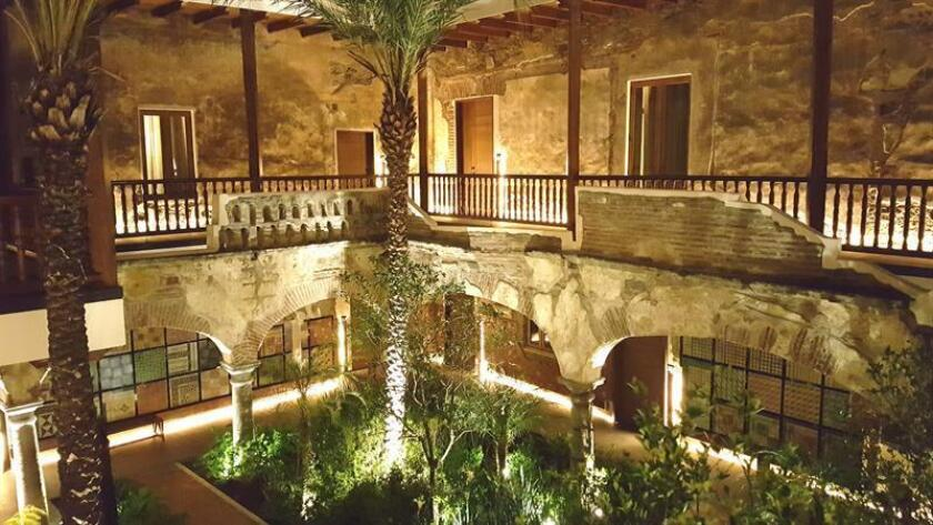 Vista general de las instalaciones del Hotel Cartesiano hoy, viernes 6 de julio de 2018, en la ciudad de Puebla (México). EFE