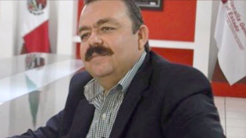 Mexican official arrested for drug trafficking said his state would