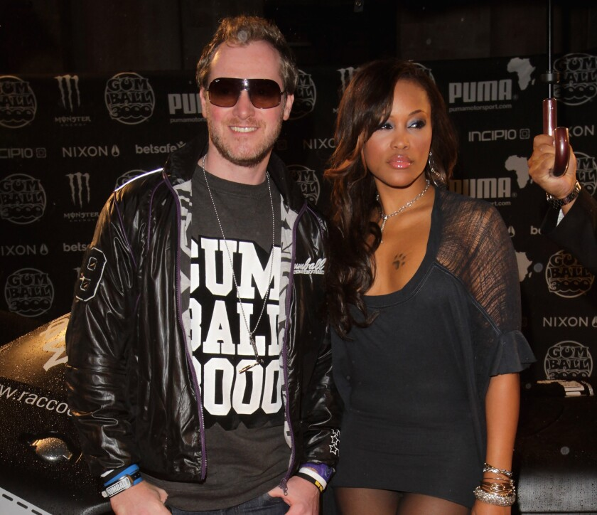 Rapper Eve Jeffers has married designer and Gumball 3000 founder Maximillion Cooper.