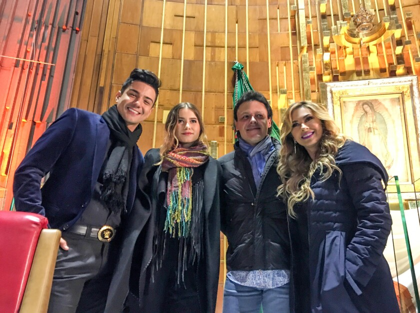 Luis Coronel, Sofía Reyes, Pedro Fernández y Aracely Arámbula.