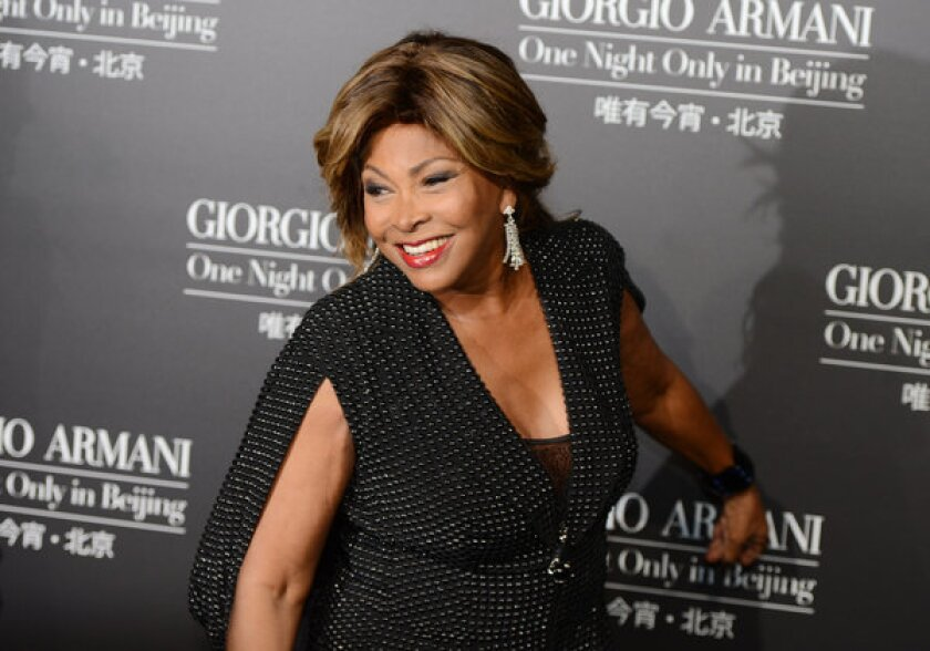 Singer Tina Turner on May 31, 2012. The singer has married longtime partner Erwin Bach.