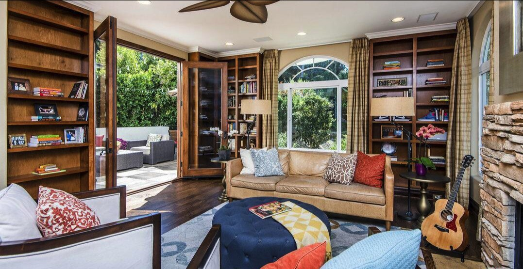 Elle King's three-story home in Hollywood Hills West