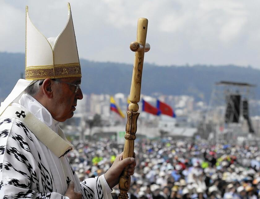 Pope Francis in Ecuador