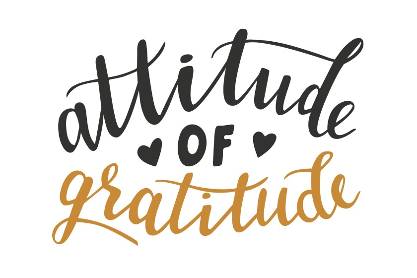 attitude of gratitude message