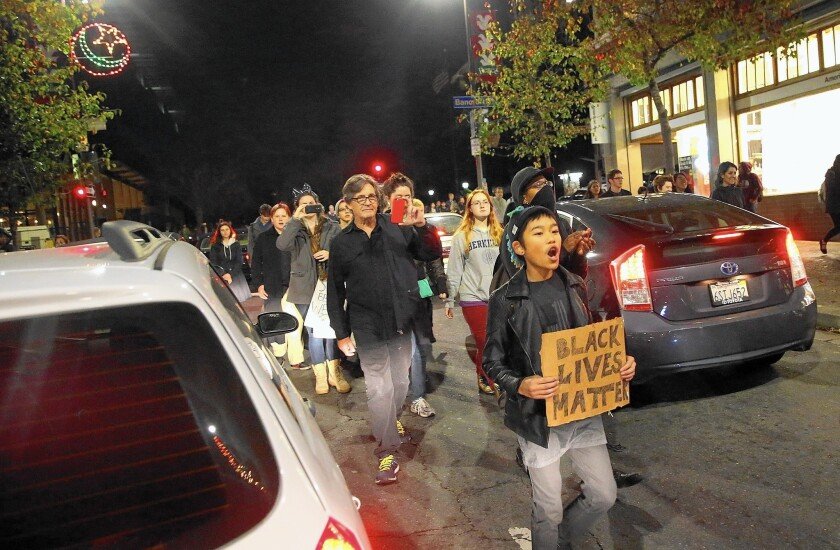 Protests continue
