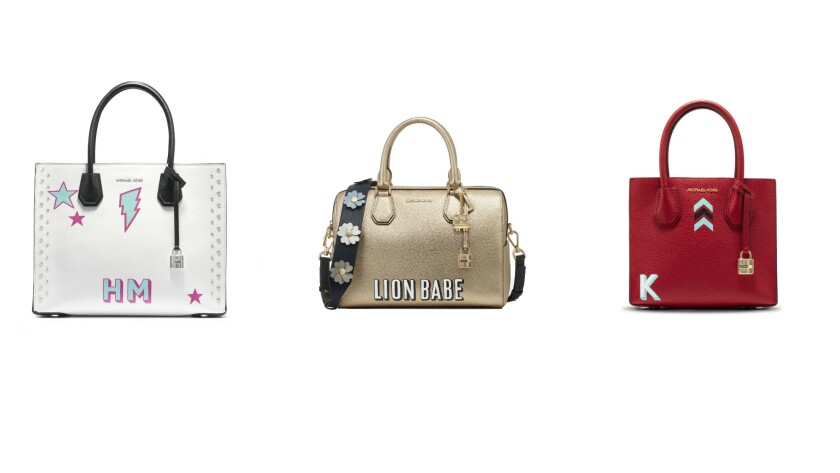 """Another look at spring bags from Michael Kors featured in """"The Walk"""" campaign."""