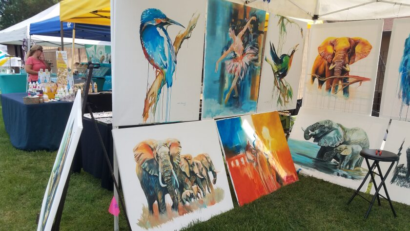 The Ramona Country Fair's Community Art Contest includes painting and drawing, photography, sculpture and 3D mixed media.