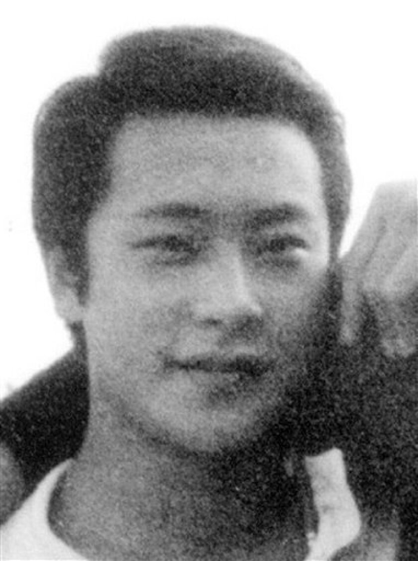 In this undated file photo taken when he was a high school student, Japanese serial rapist Joji Obara who was charged with serial rape cases including slain Briton Lucie Blackman in 2000, is shown. Obara was sentenced Tuesday, Dec. 16, 2008 by Tokyo's high court to life in prison for a series of attacks on women, but was not found guilty of murdering Blackman. Instead, he was found guilty of dismembering and abandoning her body. The Tokyo High Court sentenced the millionaire real estate developer, 56, to life in prison for nine other rapes, upholding a lower court decision. (AP Photo/Kyodo News)